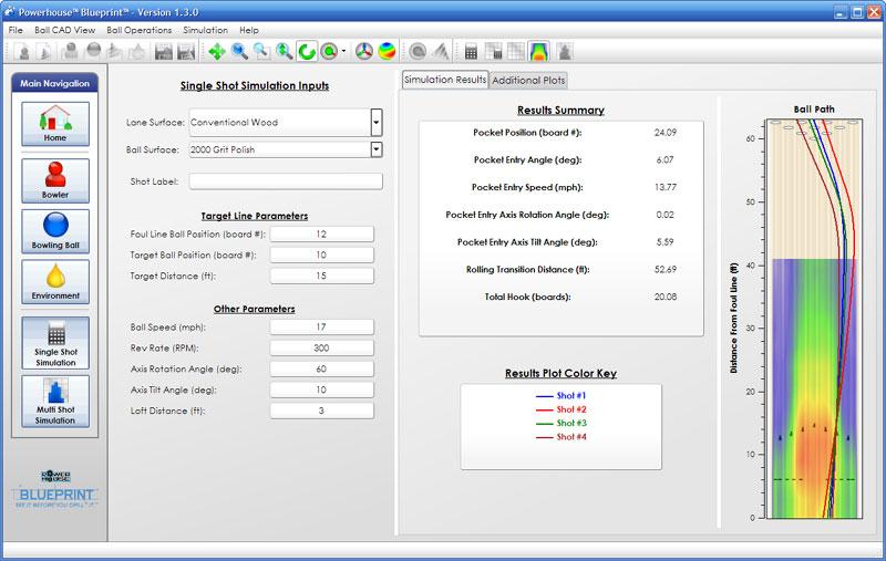 Blueprintbowling blueprint screenshots blueprint single shot simulation screen malvernweather Choice Image
